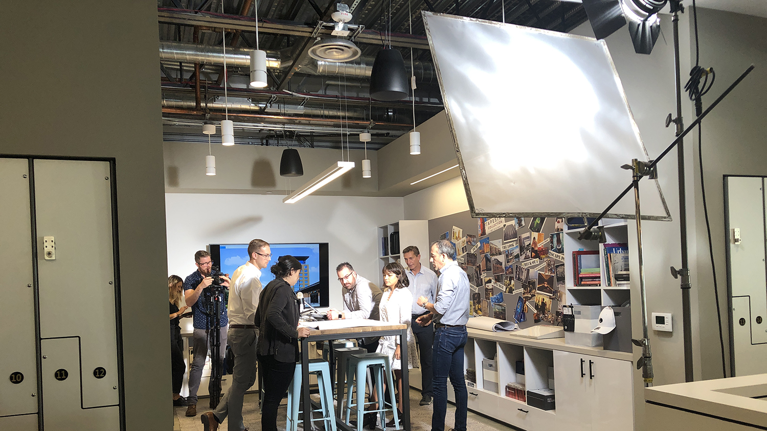 New company video filming for 2020